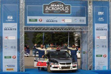 Επιτυχημένη παρουσία των Αλυγιζάκη/Χατζιδάκη στο 62ο Rally Acropolis (photos)
