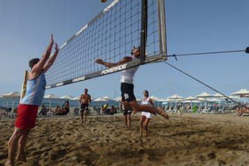 Τα αποτελέσματα της 4ης αγ. του Εργ. Beach volley