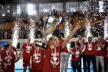 Ο Ολυμπιακός Κυπελλούχος Ελλάδος στις Γυναίκες