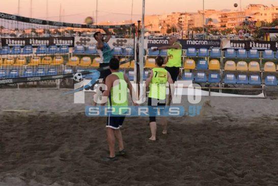 Τα αποτελέσματα της 6ης Αγ. του Εργ. Beach Volley