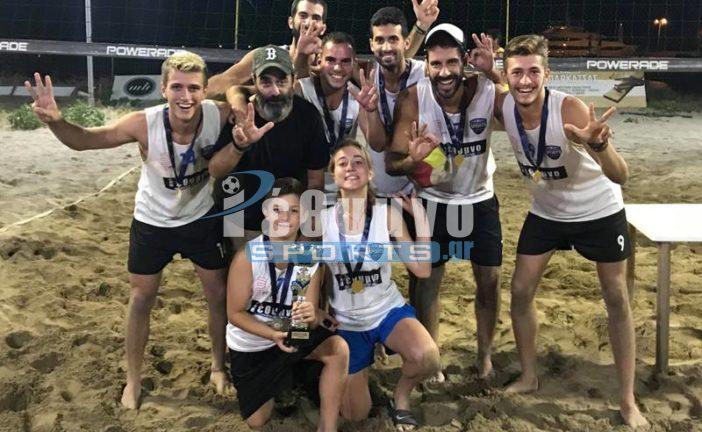 Πρωταθλητής το Rethymno Sports στο 6ο Εργασιακό πρωτάθλημα Beach Volley (photos)