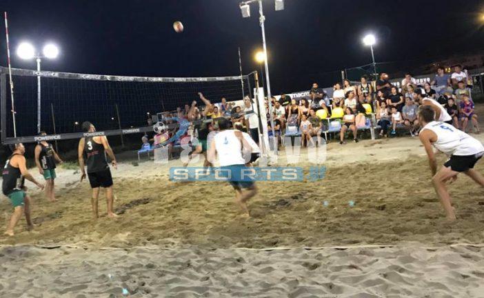 Τελικός Εργ. Beach Volley: Rethymno Sports – Οπτικά Πέλα 2-0 (video)