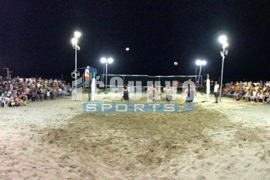 Το Beach Volley… επιστρέφει στην κεντρική παραλία