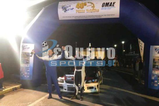 Αλυγιζάκης/Χατζηδάκης νικητές στο 40ο Ράλλυ Παλάδιο και Κυπελλούχοι 2019 στην C2