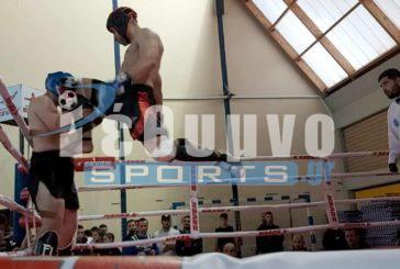 Πρωταθλητής Ελλάδας βαρέων βαρών στο Kick boxing ο Τζωρτζινάκης (photos)