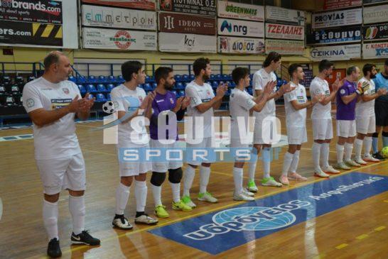 Τα 3 ματς του Α' γύρου και Play off στην Futsal Super League