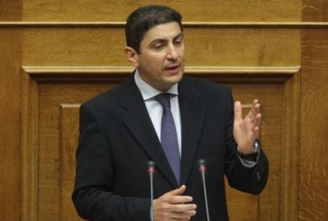 Ευχαριστήρια επιστολή προς Υφυπουργό αθλητισμού κ. Αυγενάκη.
