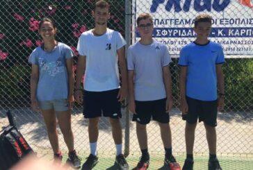 Με τον Ρεθυμνιώτη «Τσιτσιπά» προπονήθηκαν αθλητές του ΟΑΡ