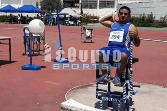 Πέταξε ψιλά ο «Ίκαρος» στο Πανελλήνιο πρωτάθλημα στίβου ΑμεΑ