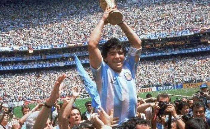 Όταν ο Diego Maradona κάρφωσε σε γήπεδο Μπάσκετ (video)