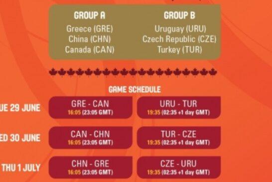 Οι αγώνες της Ελλάδας στο Προολυμπιακού Τουρνουά!
