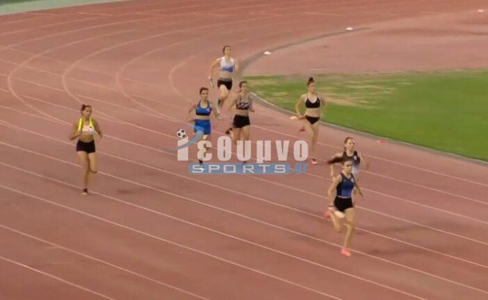 Στο βάθρο του Πανελλήνιου πρωταθλήματος Κ18, Φετοκάκης και σκυτάλη 4x400 κοριτσιών!