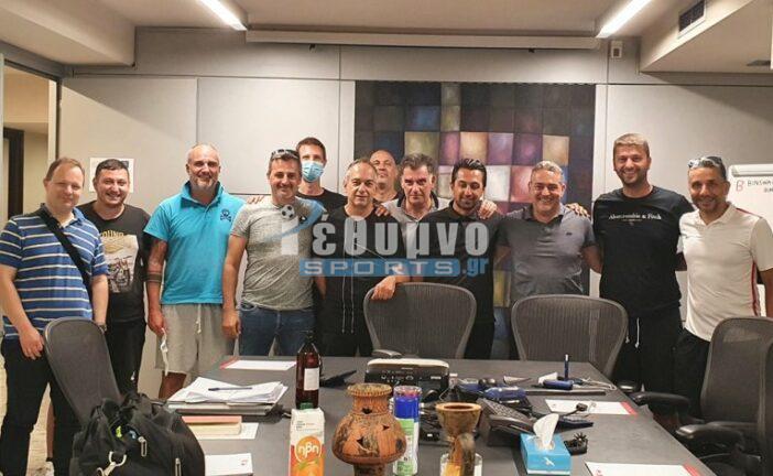 Ο Γ. Βασσάλος Αντιπρόεδρος του νέου ΔΣ Προπονητών Ποδοσφαίρου Σάλας