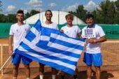 Στους «4» του διπλού στο Ευρωπαϊκό πρωτάθλημα τέννις U18 οι Νουχάκης/ Σταύρακας