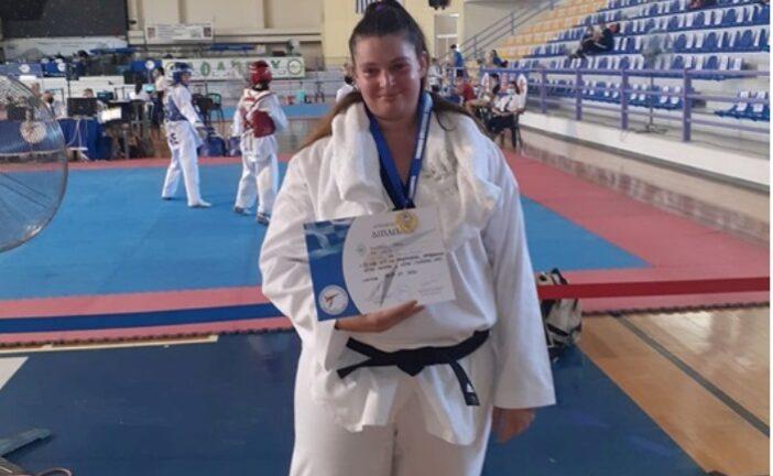 Η Ρεθυμνιώτισσα Μ. Τσοντάκη στο Πανευρωπαϊκό Πρωτάθλημα ΤαεΚβοΝτο