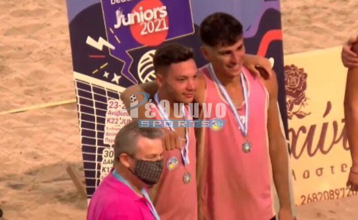 Στην 2η θέση του Πανελλήνιου πρωταθλήματος Beach Volley οι Ρεθυμνιώτες!
