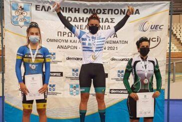 Πρωταθλήτρια Ελλάδας η Μηλάκη και 2021!