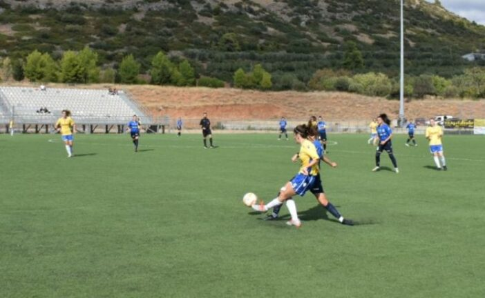 Women's Football League: Αβαντίδες Χαλκίδας – Αστέρας Ρεθύμνου 5-0 (video)